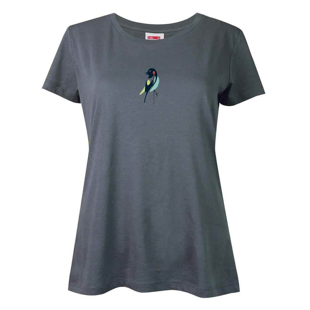 T-lab womens Brasilia Bird t-shirt