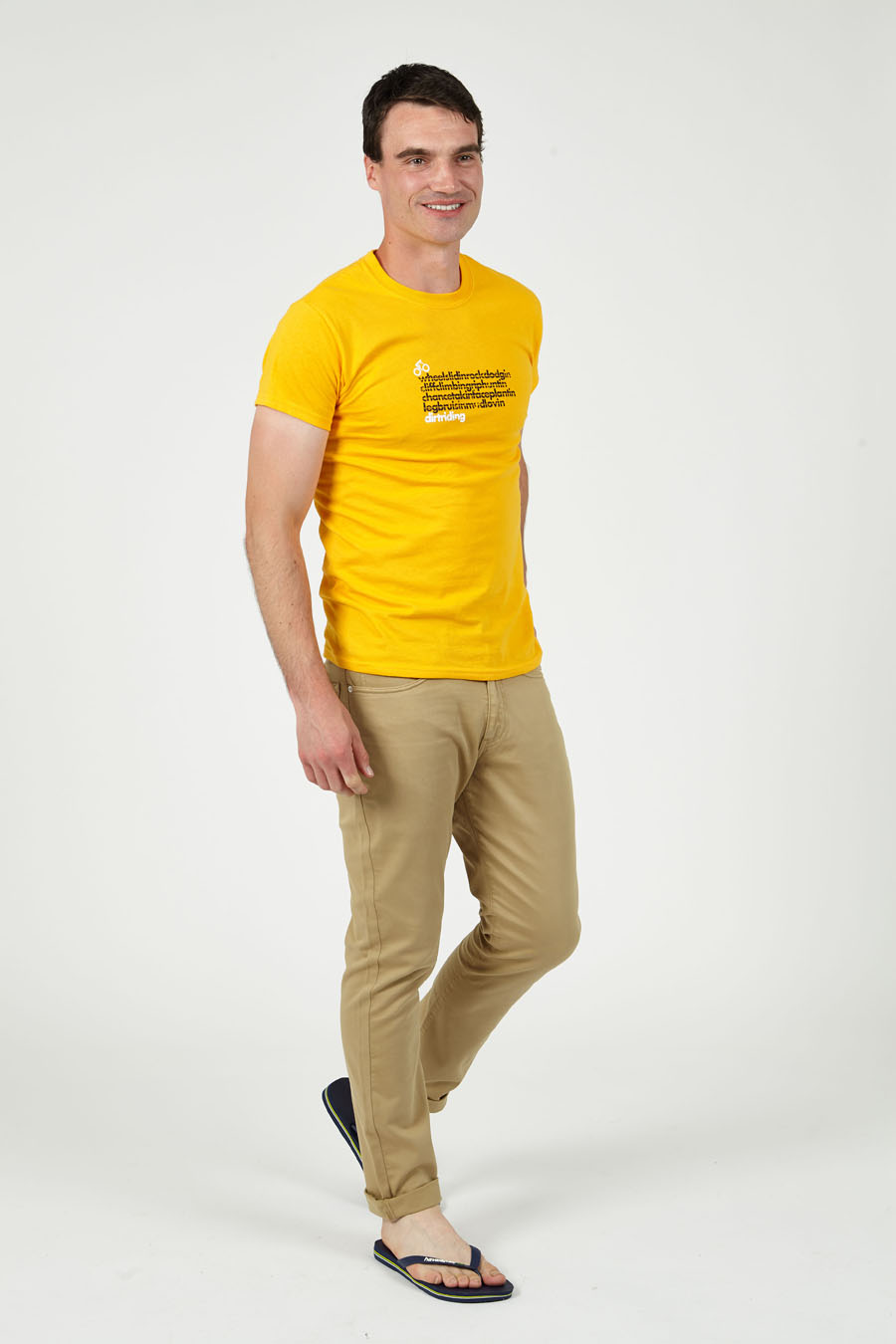 T-lab DirtRider cycling t-shirt model full