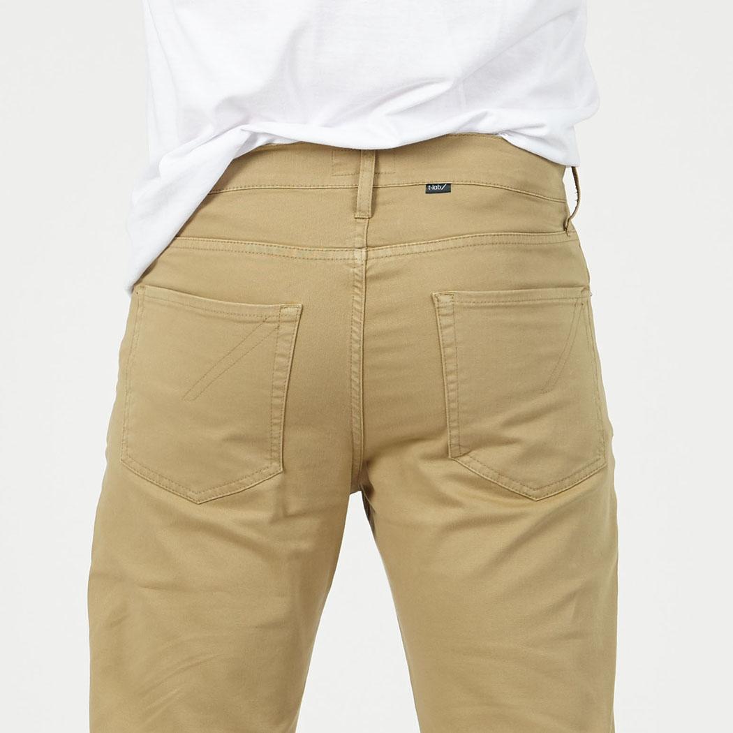 T-lab Bude jeans sand rearjpg