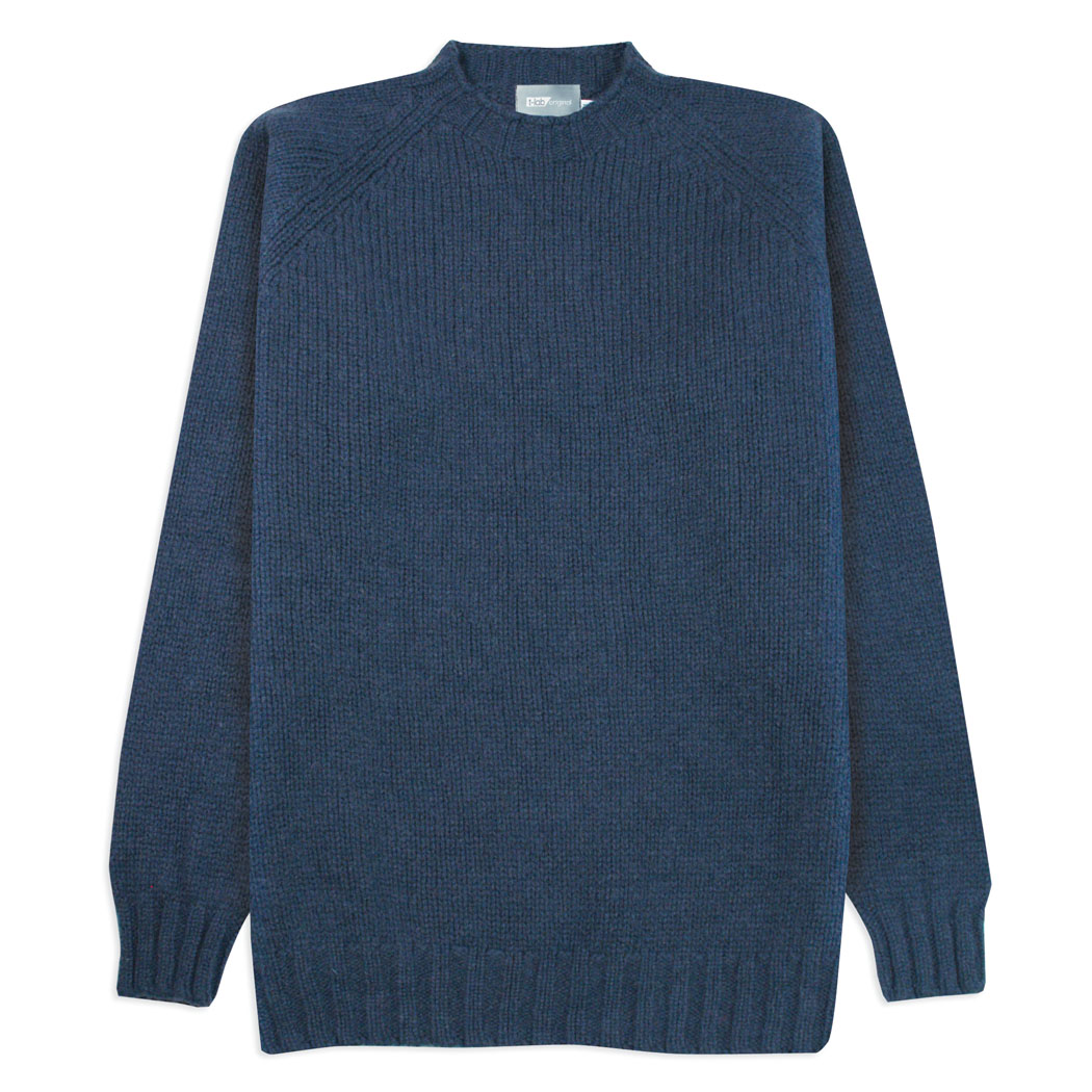 T-lab Coll Navy mens knitwear