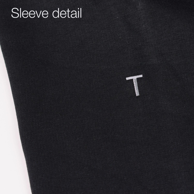 T-lab Torino '06 zipped sweat detail