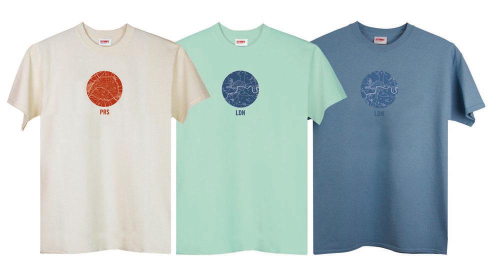 T-lab PRS & LDN mens t-shirts