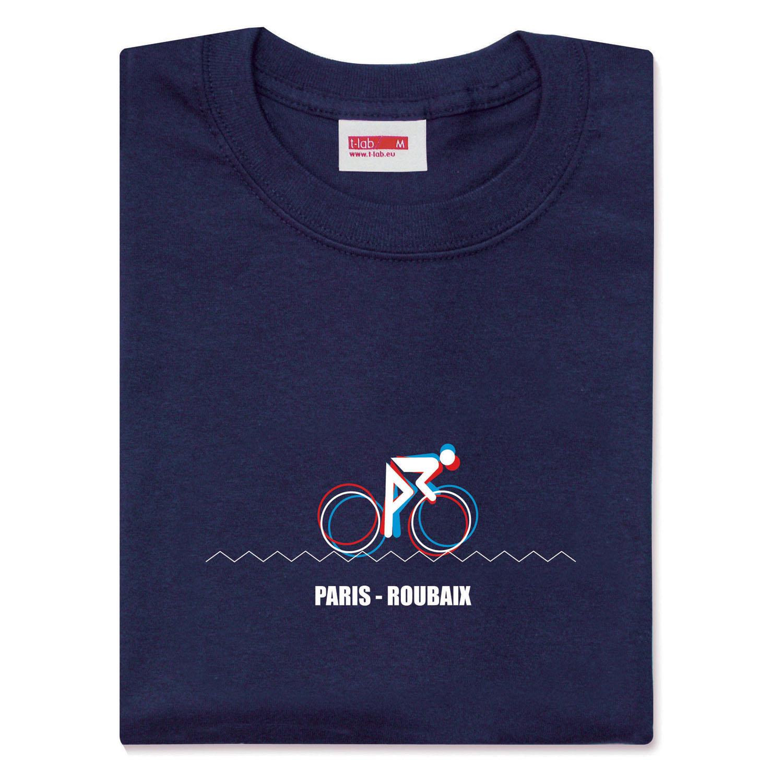 T-lab-Mens-Paris-Roubaix Mens-t-shirt-model