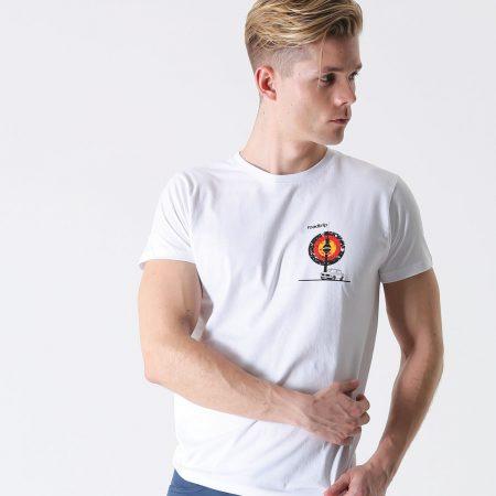 T-lab Roadtrip Berlin mens car t-shirt model1