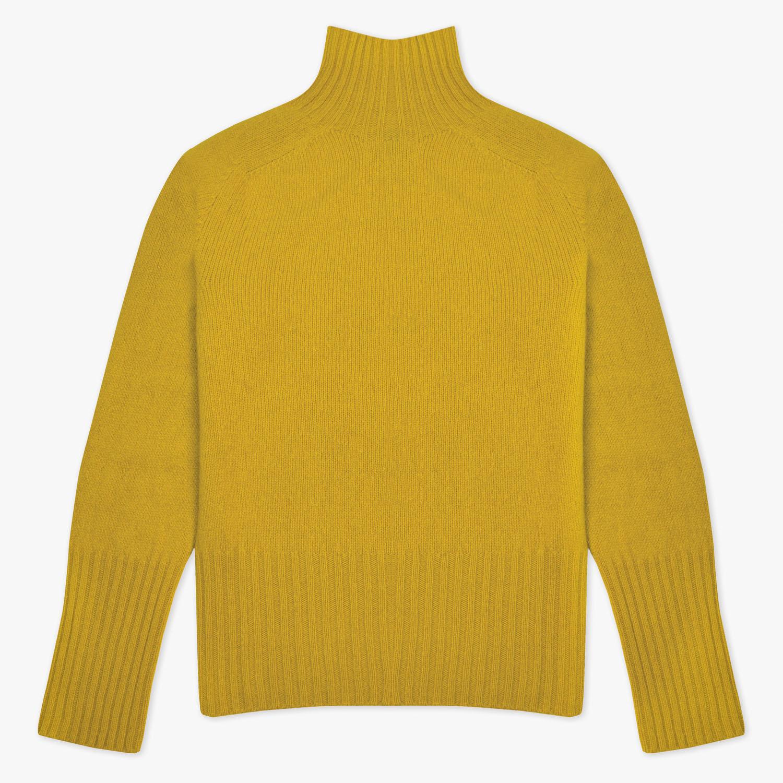 T-lab Skye womens knitwear saffron full