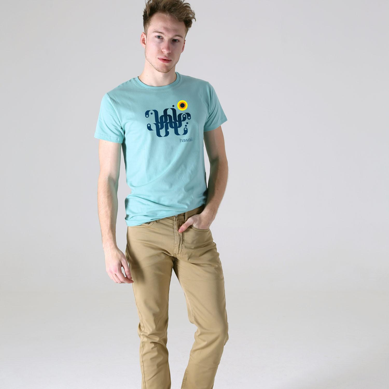 T-lab-Hawaii-Mens-mint-t-shirt-mode
