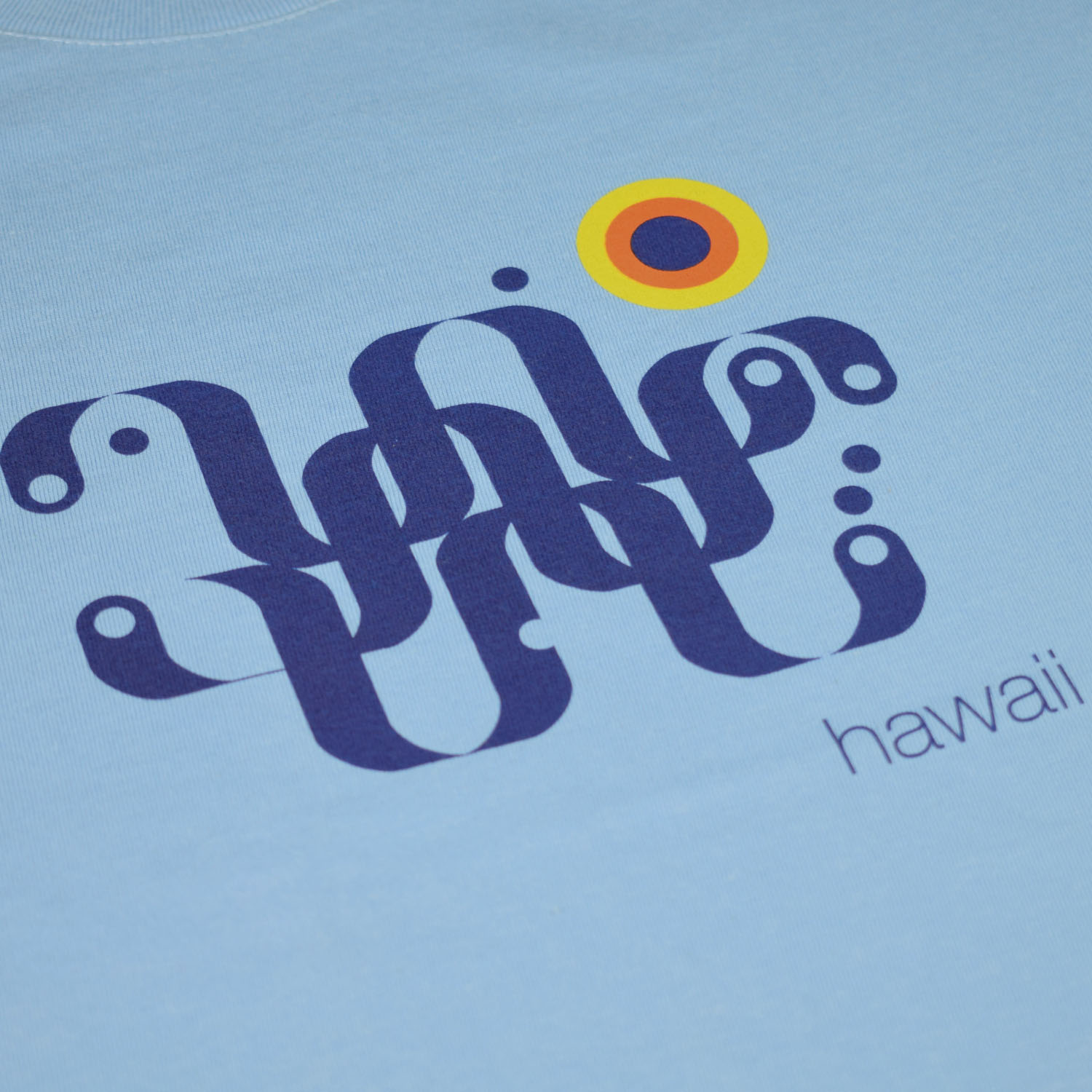 T-lab-Hawaii-mens-t-shirt-blue