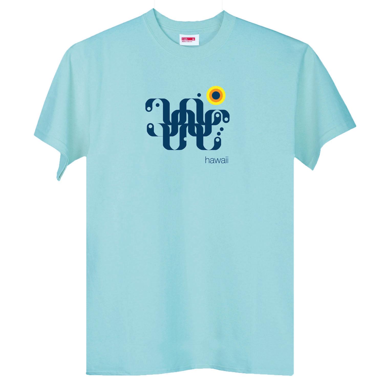 T-lab-Hawaii-Mens-Mint-t-shirt-chest2