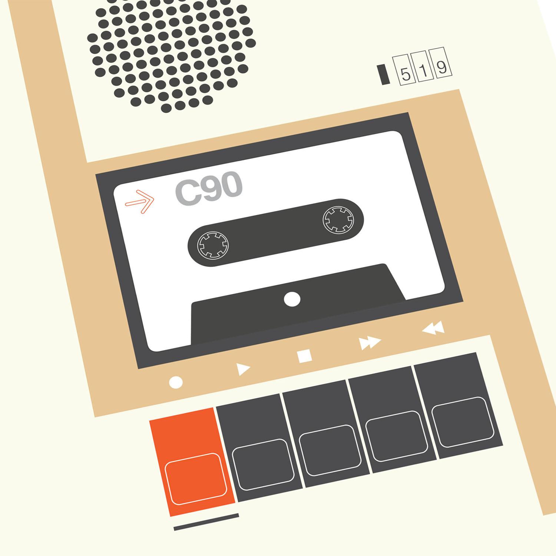 T-lab-C90-cassette-A3-poster-detail