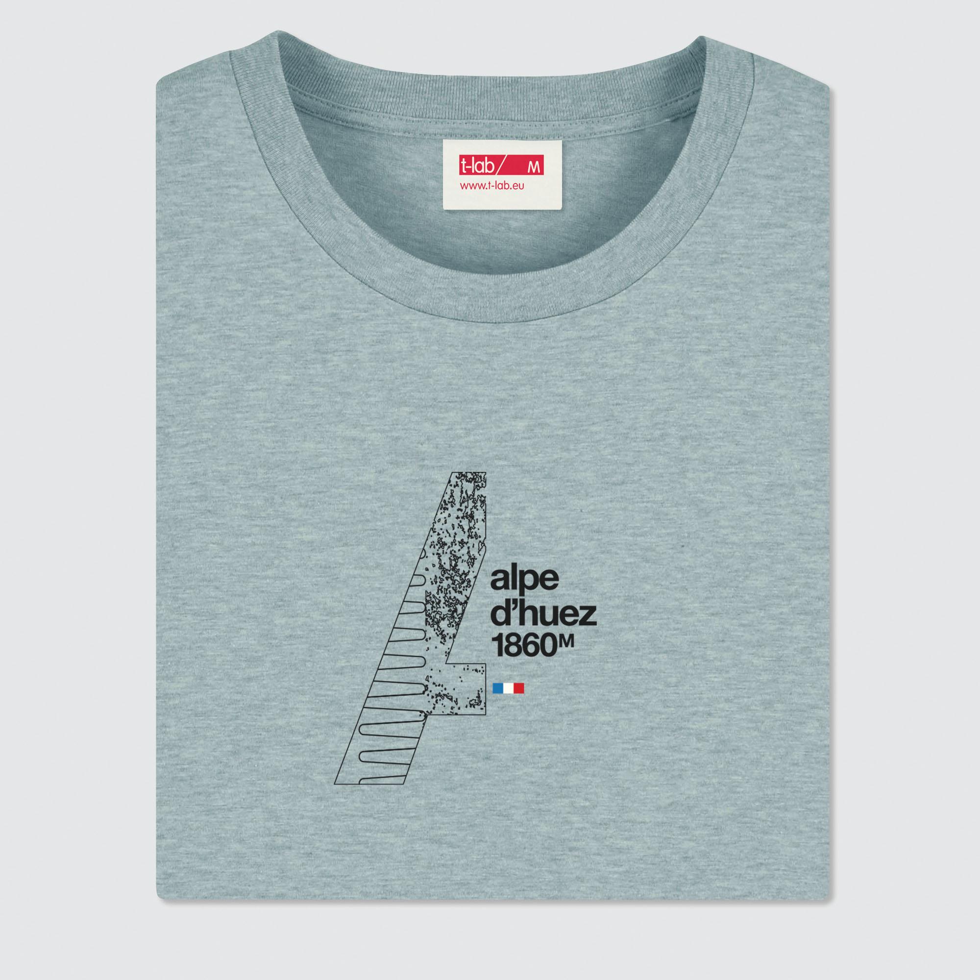 T-lab-mens-t-shirt-Alpes-DHuez-Heather-Ice-Blue