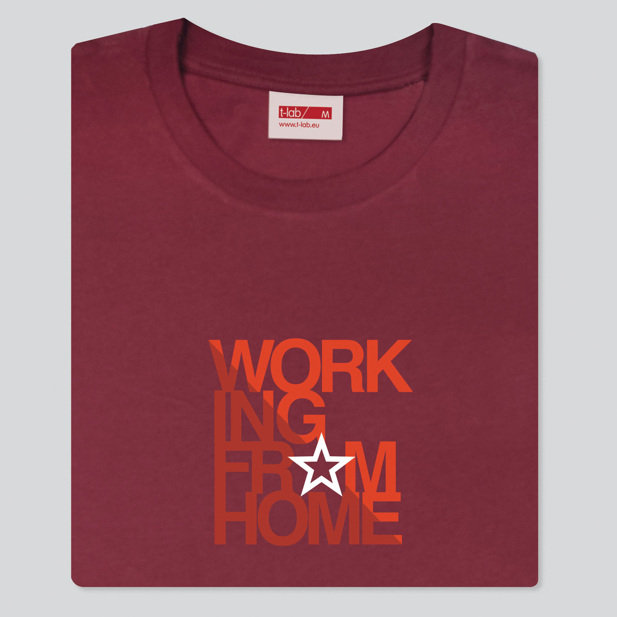 T-lab-WFH-mens-t-shirt-burgundy-red